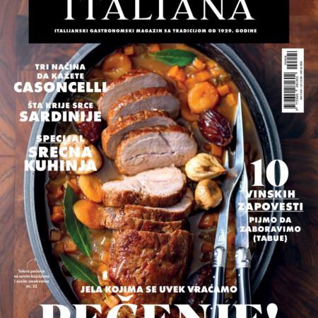 U prodaji je novi broj magazina La Cucina Italiana
