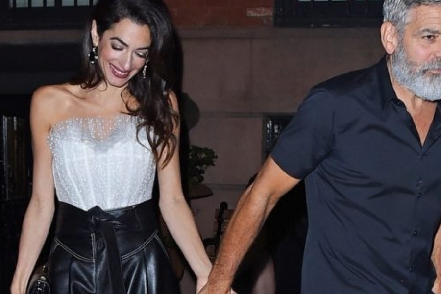 Amal Kluni pokazala da je ikona stila, ali Džordž ne uspeva da drži korak s njom (foto)