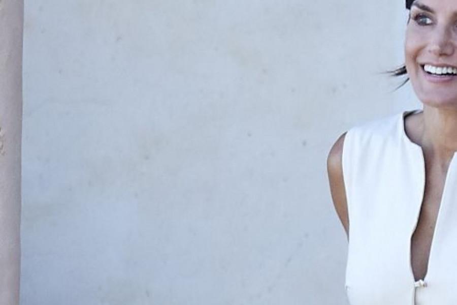 Leto u Španiji: Kraljica Leticija u beloj haljini koju rado nose mnoge dame
