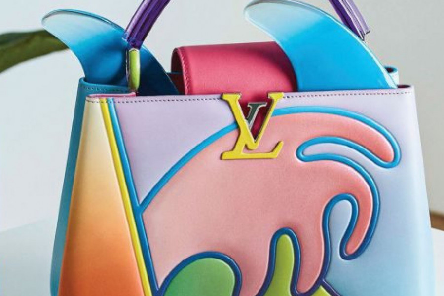 Umetnost i moda: Louis Vuitton u bojama duge (foto)