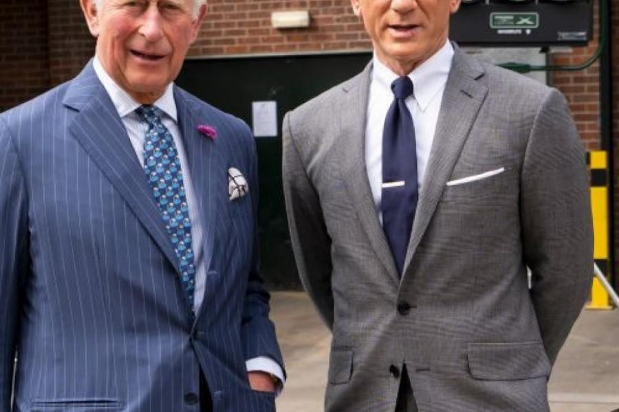 Džejms Bond na kraljevski način: Zovem se Čarls, princ Čarls (foto)