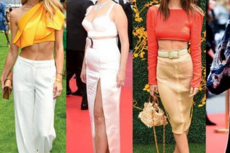 Sloboda za stomak: Moda po meri holivudskih lepotica (foto)