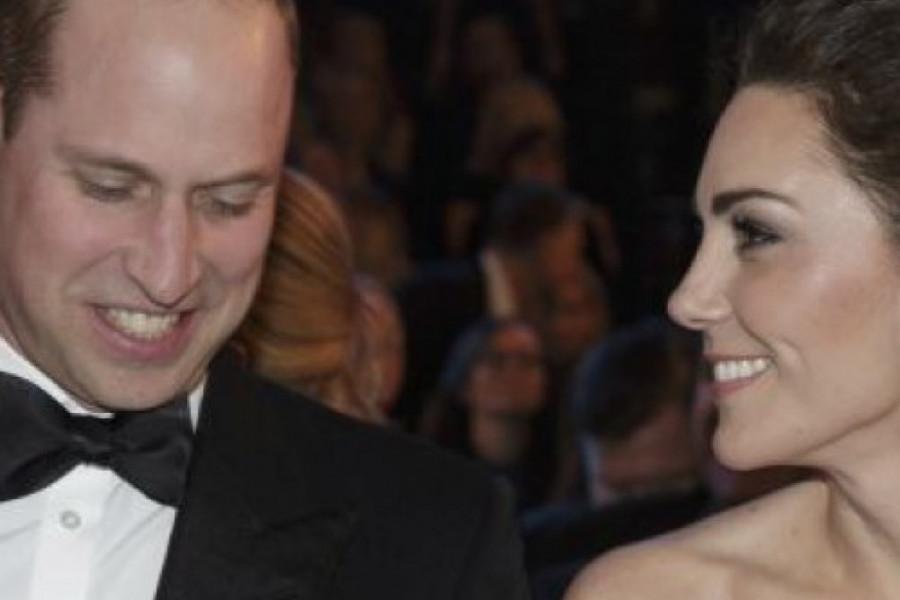 Poput princeze: Kejt Midlton u romantičnoj beloj haljini na dodeli BAFTA (foto)