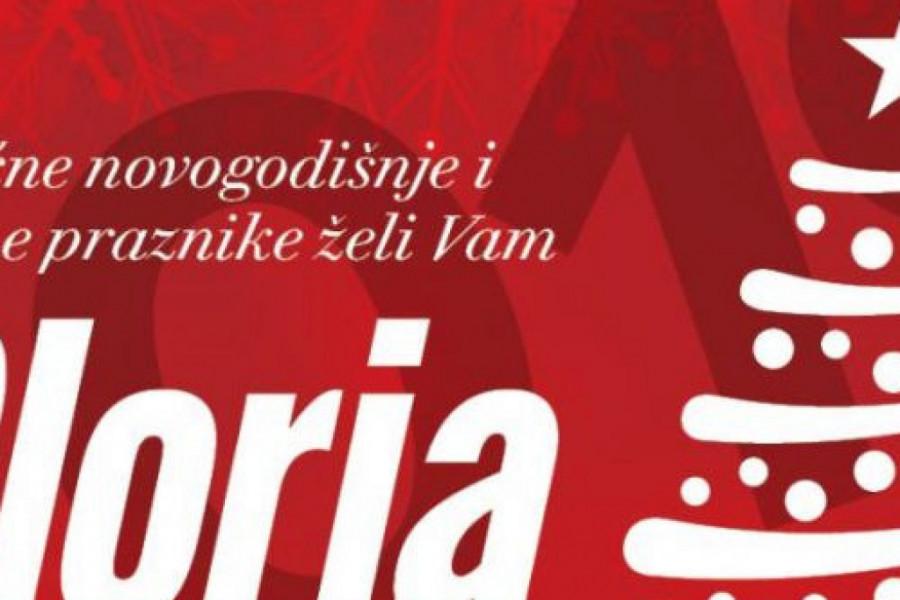 Magazin Gloria želi vam srećnu 2021. godinu!