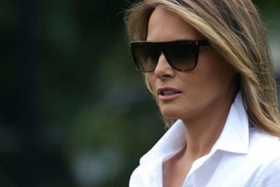 Melanija Tramp apsolutno ništa ne prepušta slučaju: Glamuroznim blejzerom naglasila besprekornu liniju!