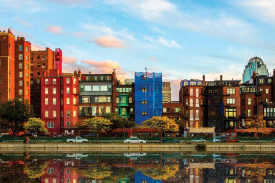 Ekonomski i kulturni centar, najveći grad Nove Engleske - Boston!