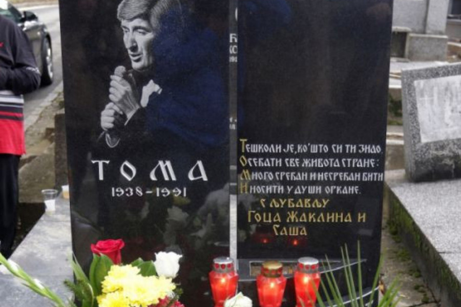 Porodica i prijatelji odali su počast tragično preminulom Tomi Zdravkoviću - Sećanje na legendarnog boema živi! (foto)