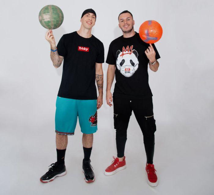 Dvojac koji je spojio društvene mreže i sport - Đota i Triki otkrivaju drugu stranu fudbala i košarke na RED TV-u!