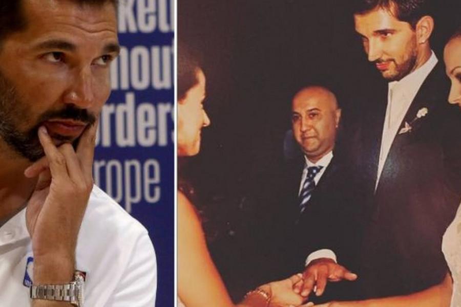 Predrag Stojaković proslavio je godišnjicu braka sa prelepom suprugom - volimo jedno drugo zar ne?