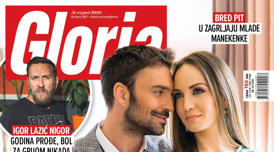 U prodaji je 891. broj magazina Gloria!