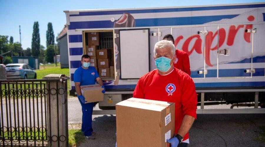 Frikom donirao 22 tone proizvoda za Narodne kuhinje Crvenog krsta