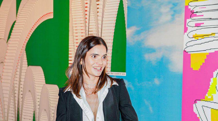 Marija Karan u Holivudu promoviše srpske slikarke