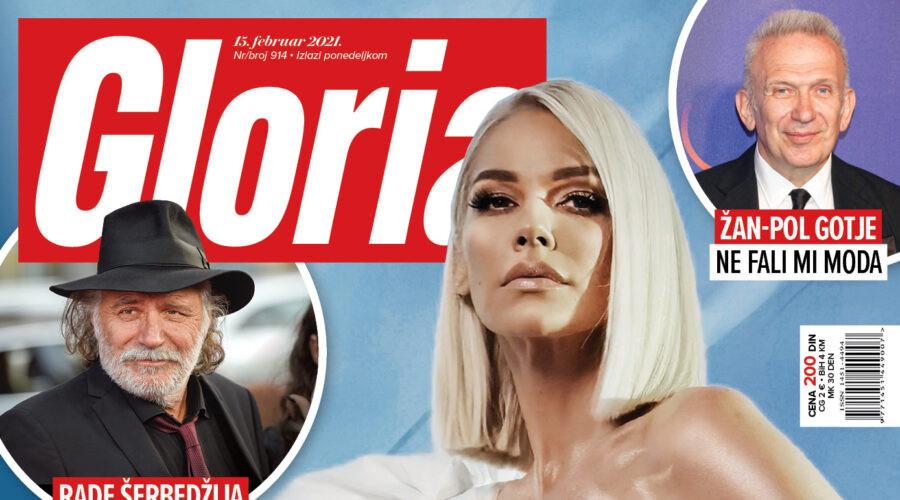 U prodaji je 914. broj magazina Gloria!