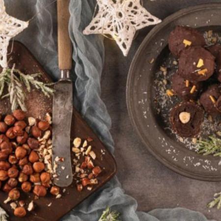 Čokoladna magija - Trufle sa pečenim lešnicima
