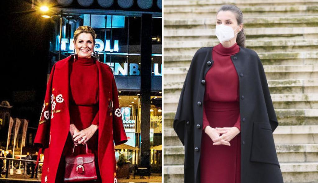 Modni okršaj dveju kraljica - Leticija i Maksima ponele istu haljinu, kojoj bolje pristaje?