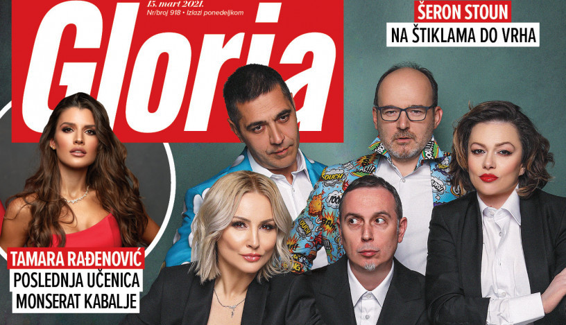 U prodaji 918. broj magazina Gloria!